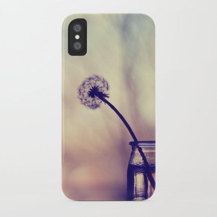 dandelion morning iPhone Case