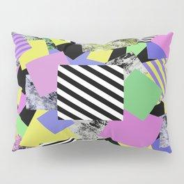 Crazy Squares - Abstract, Geometric Pop Art Pillow Sham