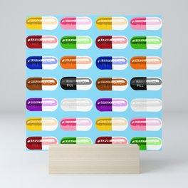 Pill Popper Mini Art Print
