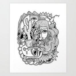 2 AM Art Print
