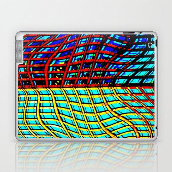 Collapsing Skyscraper Laptop & iPad Skin
