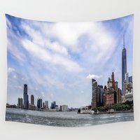 nyc Wall Tapestries featuring NYC  by Forand Photography