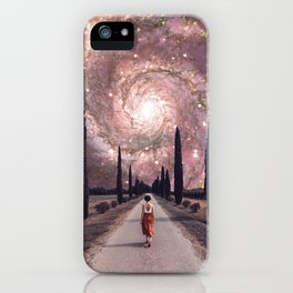 A Wrinkle in Space iPhone Case