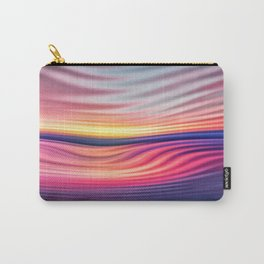 Abstract Waves Carry-All Pouch