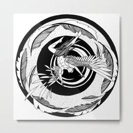 "Inktober, Day 3 ""Roasted"" #inktober #inktober2018 Metal Print"
