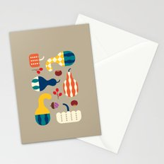 Autumn Gourds Gold Stationery Cards
