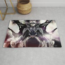Kaworu Nagisa the Sixth. Rebuild of Evangelion 3.0 Digital Painting. Rug