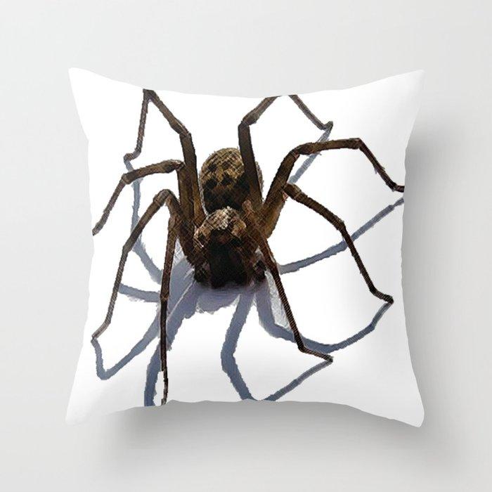 Spider Throw Pillow By Aztosaha Society6