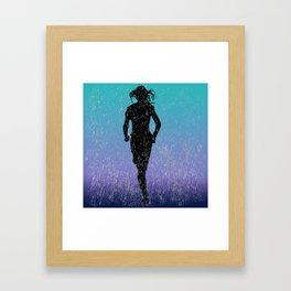Deluge Dash Framed Art Print