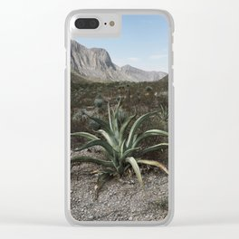 Mexico Century Clear iPhone Case