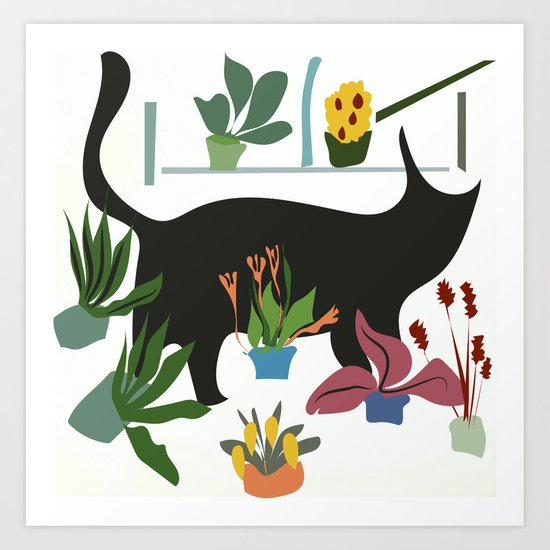 little cat Art Print