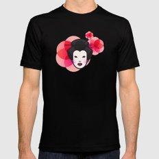 Geisha Icon MEDIUM Mens Fitted Tee Black
