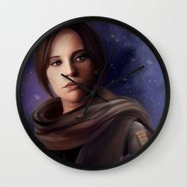 Star Rebellion Wall Clock