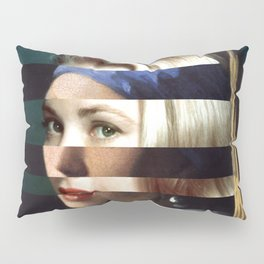 "Vermeer's ""Girl with a Pearl Earring"" & Grace Kelly Pillow Sham"