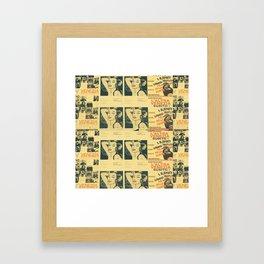 Venezia Wallpaper Framed Art Print