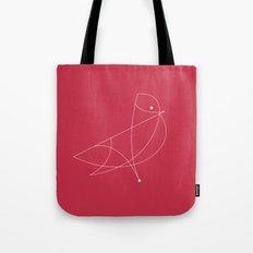 Contours: Cardinal (Line) Tote Bag
