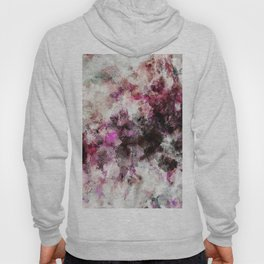 Modern Abstract Painting in Purple and Pink Tones Hoody