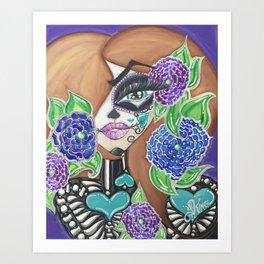 Living Dead Girl Art Print