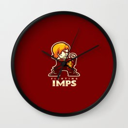 Fightin' Imps Wall Clock