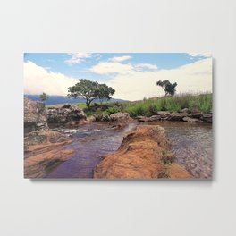 """Mac Mac Pools"" by ICA PAVON Metal Print"
