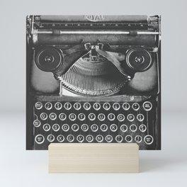 Vintage Typewriter - Before Email Mini Art Print