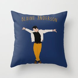 Blaine Anderson - Wanna Be Startin' Something Throw Pillow