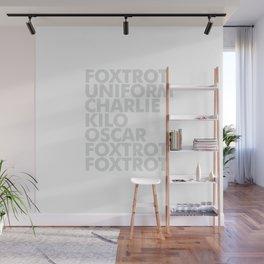 Foxtrot Wall Mural
