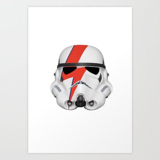 Startrooper Art Print