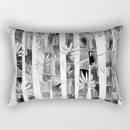 BLACK AND WHITE BAMBOOS Rectangular Pillow