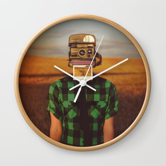 I See What You See Wall Clock