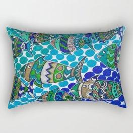Friendly Fish Rectangular Pillow