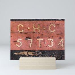 Cargo tag Mini Art Print