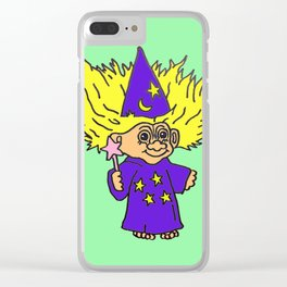 80s Russ Troll Doll Clear iPhone Case