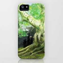 Baumhaus iPhone Case