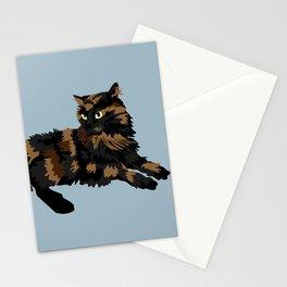 Pesto on Light blue Stationery Cards