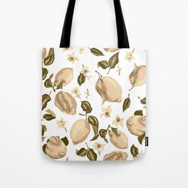 Lemon Slices Graphic Design Tote Bag