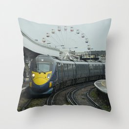 Margate Javelin Throw Pillow