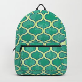Watercolor Lovely Pattern VVV Backpack