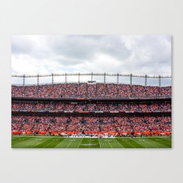 Blue & Orange Canvas Print
