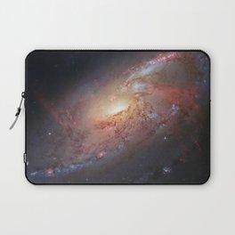 Spiral Galaxy M 106 Laptop Sleeve