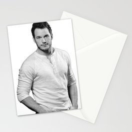 chris pratt Stationery Cards