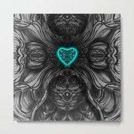Blueheart Metal Print