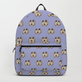 Pitbull Loaf - Fawn Pit Bull with Cropped Ears Backpack