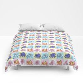 Flowers (Tiled) Comforters
