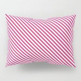 Pink Yarrow Stripe Pillow Sham