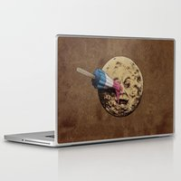 history Laptop & iPad Skins featuring Summer Voyage by Eric Fan