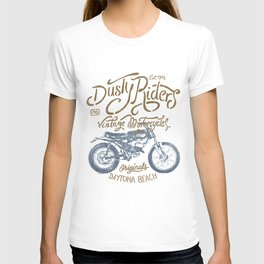 Dusty Riders Vintage Motorcycles T-shirt