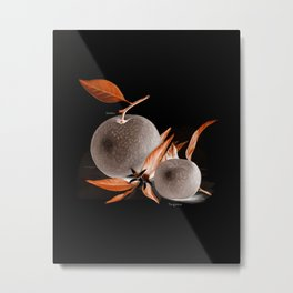 Oranges Illustration  Metal Print