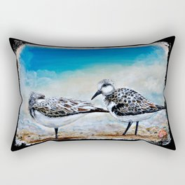 Rest at Shore Rectangular Pillow