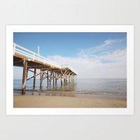 Paradise Cove Pier Art Print
